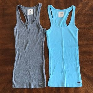 Hollister 2 ribbed tank tops size small
